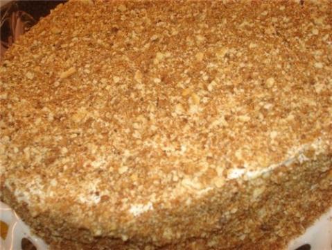 Медовый торт рецепт классический два крема фото