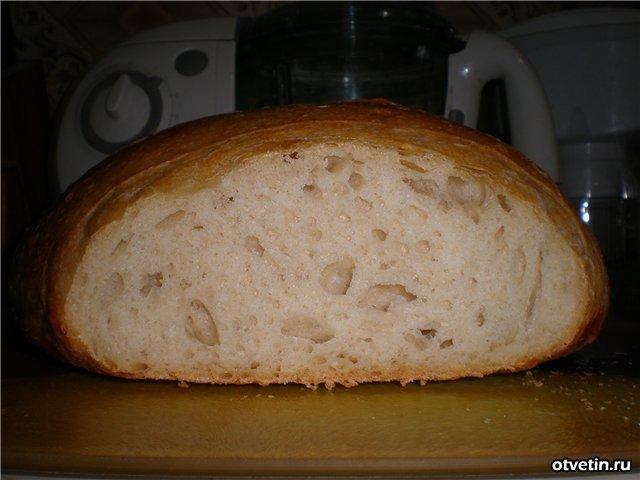 Вкусный хлеб в духовке рецепт