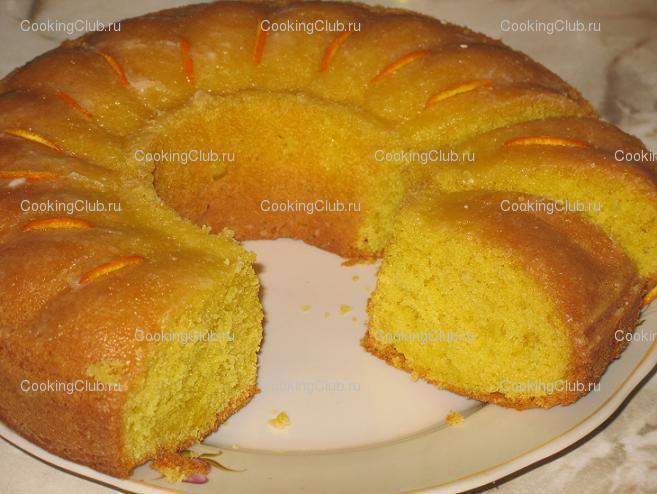Лимонный кекс в духовке рецепт пошаговый