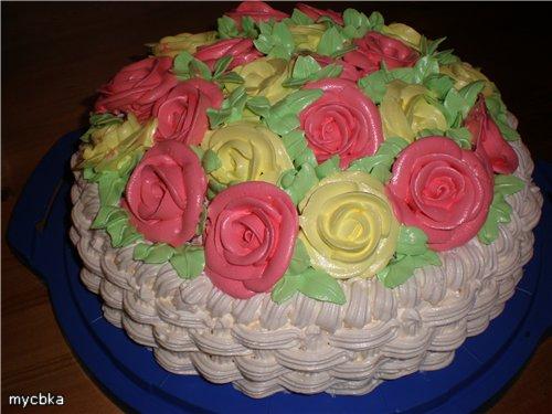 Рецепт крема для украшения торта