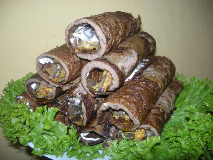 Вкусные гречаники с фаршем рецепт с фото