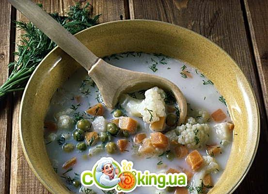 Фото с рецептами молочных супов