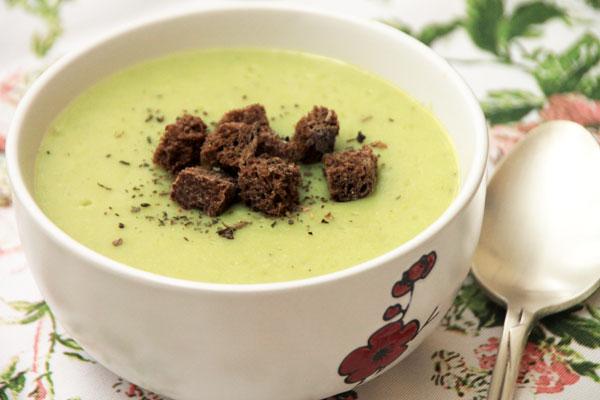 Суп-пюре из горошка рецепт