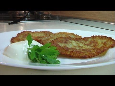 Картофельные блины 'Драники' видео рецепт